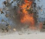 738102 11.08.2010 Уничтожение боеприпасов с вышедшим сроком хранения на полигоне Хмелевка Балтийского флота. Игорь Зарембо