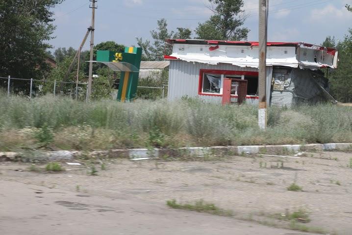 Разрушенное здание в Станице-Луганской3