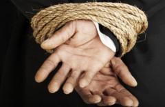 Hands bound