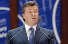 President of Ukraine Viktor Yanukovych d