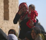 Women morn the death of a relative killed by Islamic State fighter in Mteahh village near al-Shadadi town, Hasaka countryside Syria February 18, 2016. REUTERS/Rodi Said