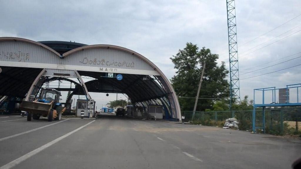 Боевики «ЛНР» открыли КПВВ «Должанский», который нуждается в ремонте, фото-1