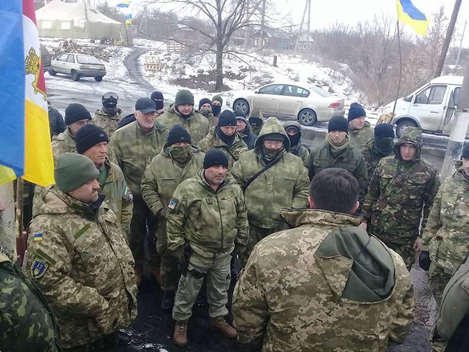 Участники блокады Донбасса ответили на заявление Авакова о готовности к разгону