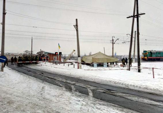 Милиция Бахмута поднята потревоге— Блокада Донбасса