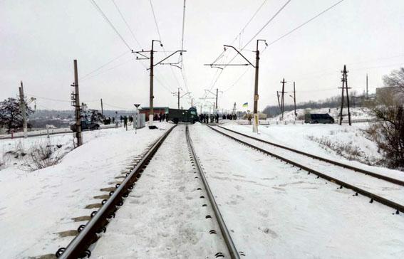 Боевики «АТО» заблокировали ж\д переезд под Артемовском— Блокада Донбасса