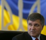 Ukraine's acting Interior Minister Arsen Avakov speaks during a news conference in Kiev February 26, 2014. Ukraine's riot police force, held responsible for the deaths of most of the 100 people killed in unrest and clashes in Kiev, has been disbanded, Avakov said on Wednesday. REUTERS/David Mdzinarishvili (UKRAINE - Tags: POLITICS CIVIL UNREST CRIME LAW HEADSHOT) - RTR3FQLC