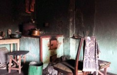 Марьинка пожар 24.03.17 2