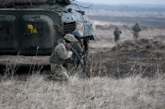 Lead in the air - live-fire exercise in Ukraine
