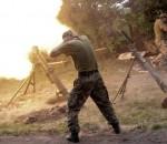 Обстрел боевики