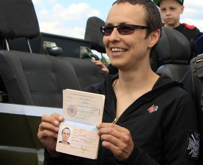 Певица Чичерина получила «паспорт» ЛНР