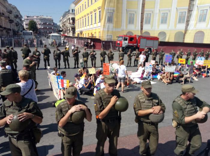 «Марш равенства» в Одессе: сторонники, противники и полиция
