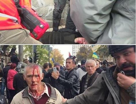Последние данные о протестах в Киеве: палатки ставят, Рада закрылась, четверо – пострадали