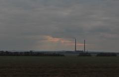 Углегорская теплоэлектростанция в Светлодарске — одно из немногих больших предприятий в этой части Донецкой области