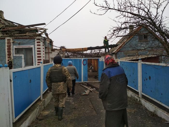 «Симики» побывали на передовой и в «серой зоне» Донбасса
