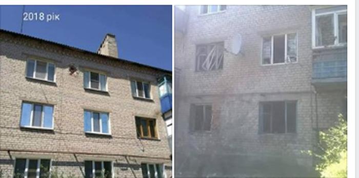Торецк: снаряд боевиков второй раз попал в один и тот же дом