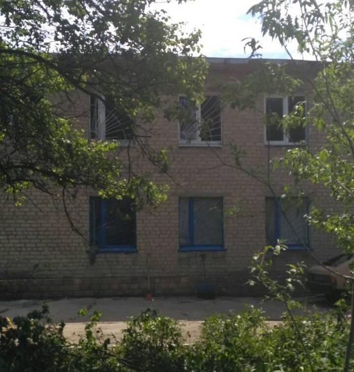 Опубликованы фото последствий обстрела больниц Торецка